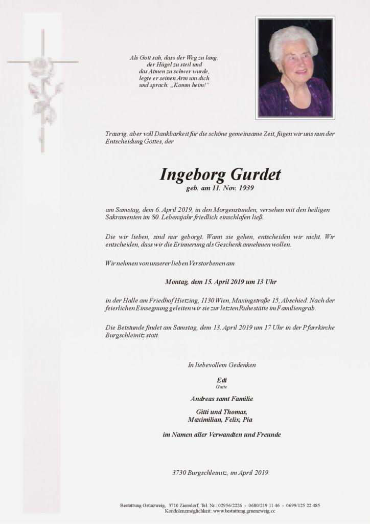 Ingeborg Gurdet