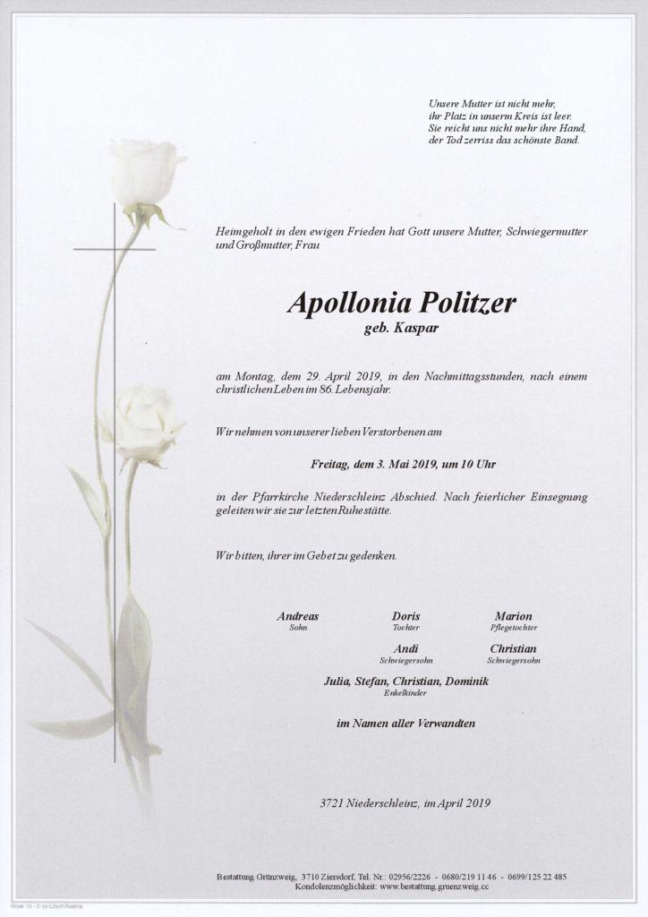 Apollonia Politzer