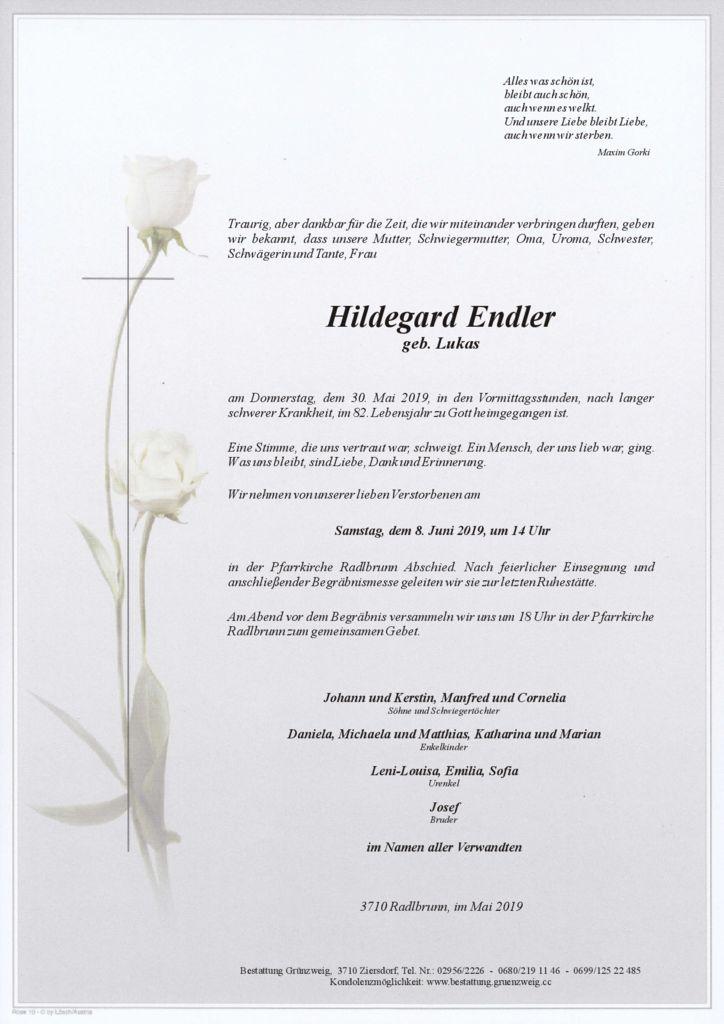 Hildegard Endler