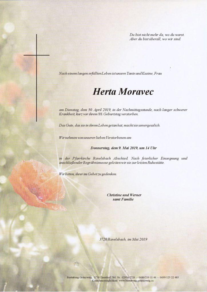 Herta Moravec