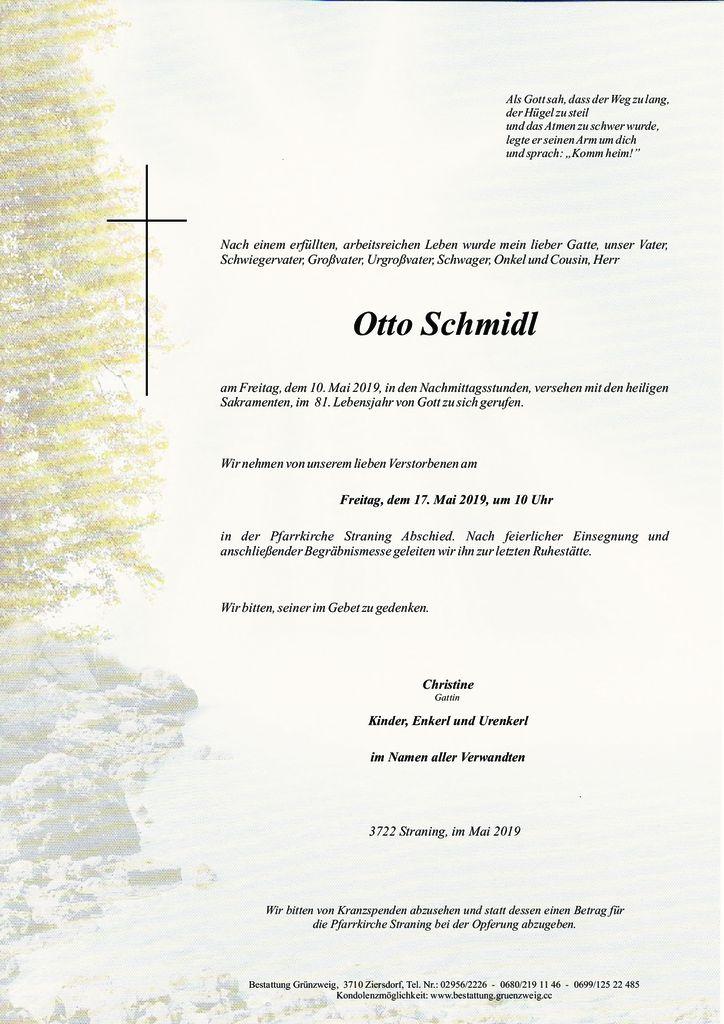 Otto Schmidl