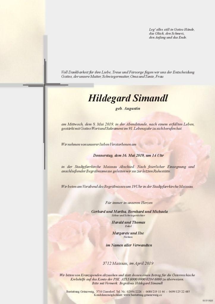 Hildegard Simandl
