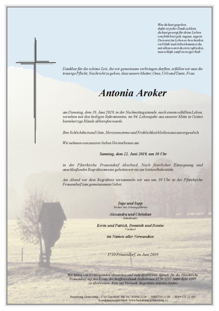 Antonia Aroker