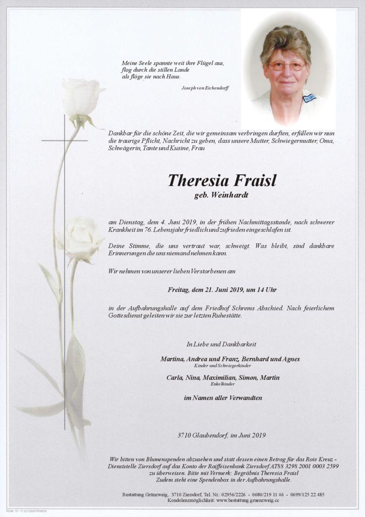 Theresia Fraisl