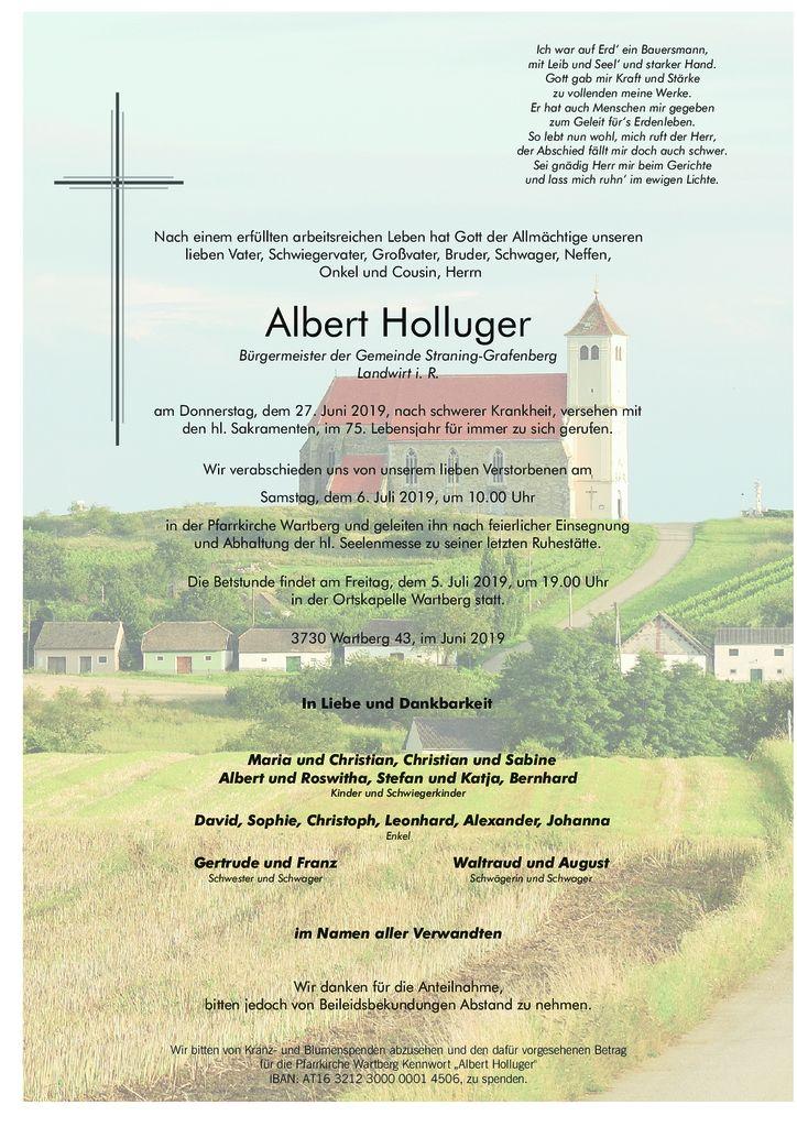 Albert Holluger