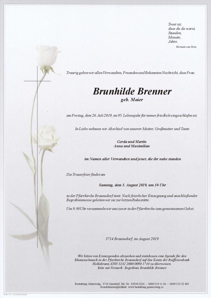 Brunhilde Brenner