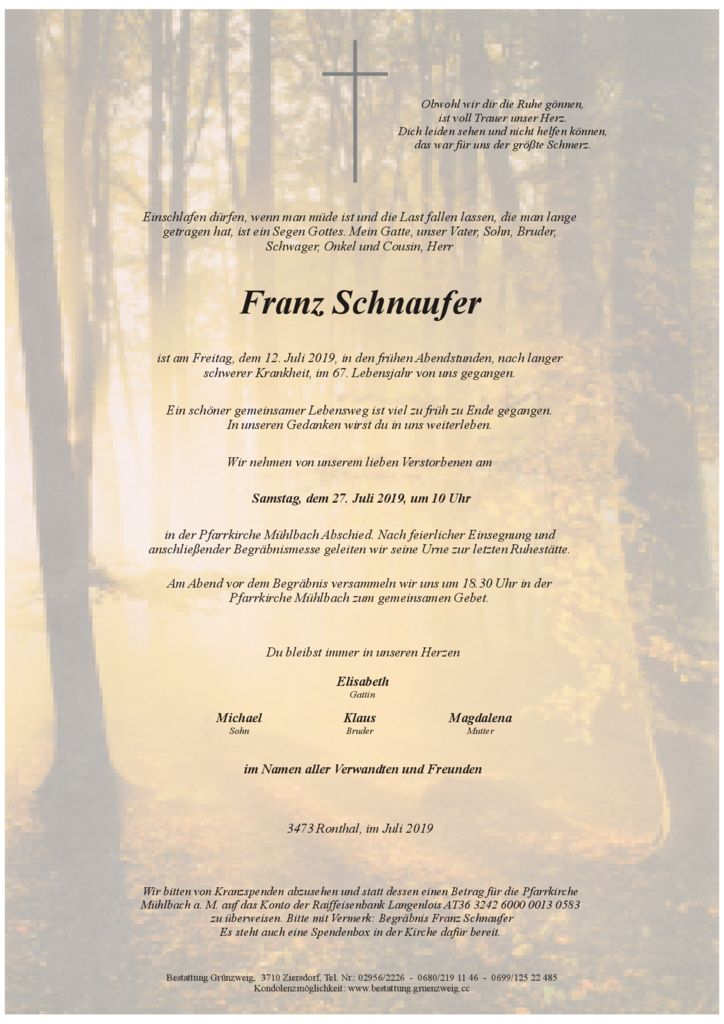Franz Schnaufer