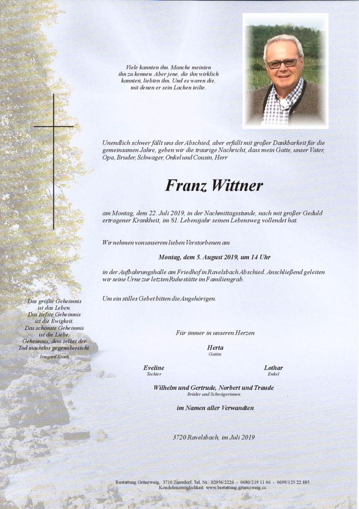 Franz Wittner