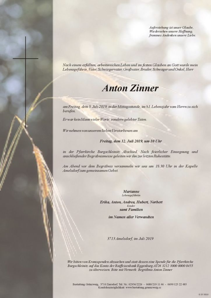 Anton Zinner