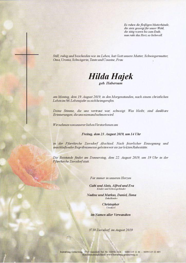 Hilda Hajek