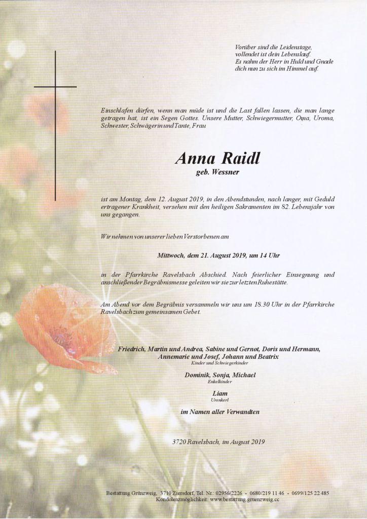 Anna Raidl