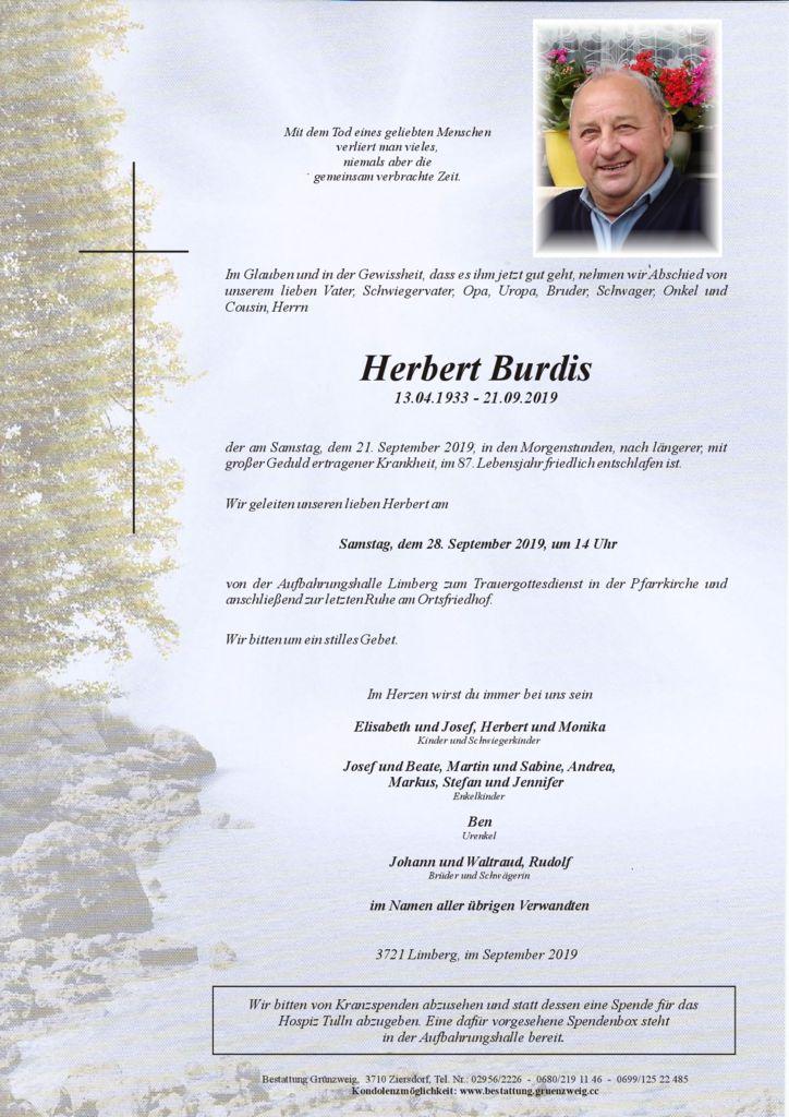 Herbert Burdis