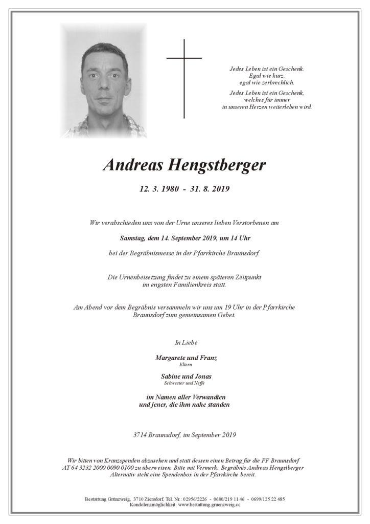 Andreas Hengstberger