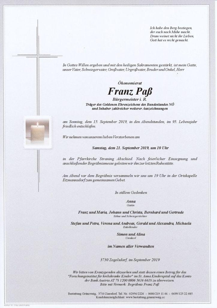 Franz Paß