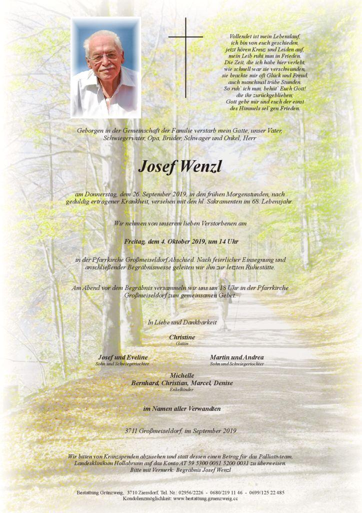 Josef Wenzl