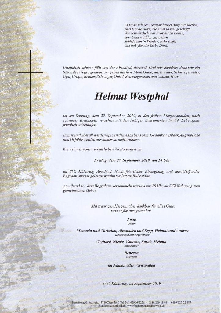 Helmut Westphal