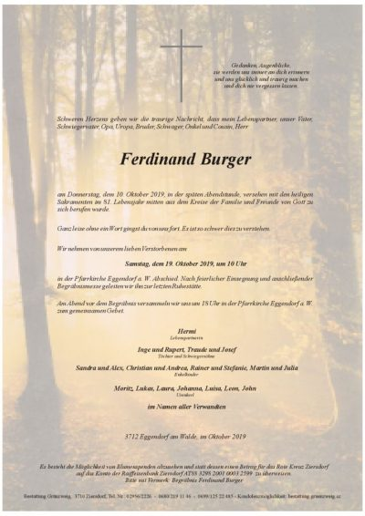 Ferdinand Burger