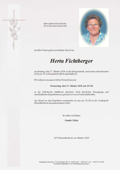 Herta Fichtberger