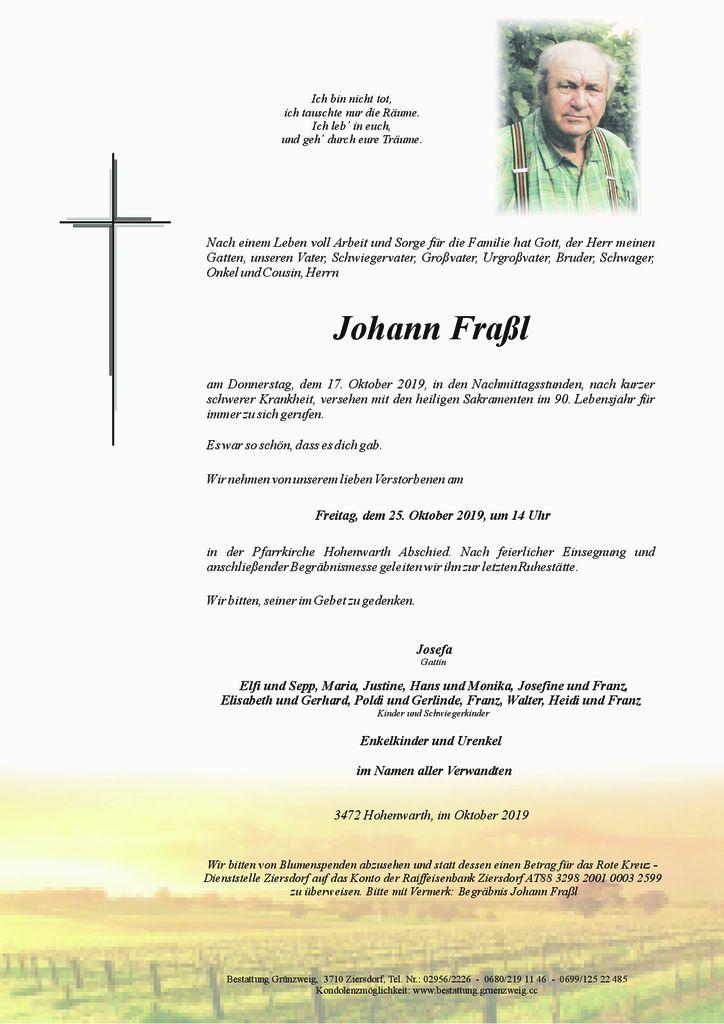 Johann Fraßl