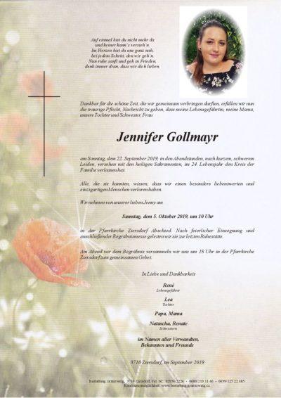 Jennifer Gollmayr