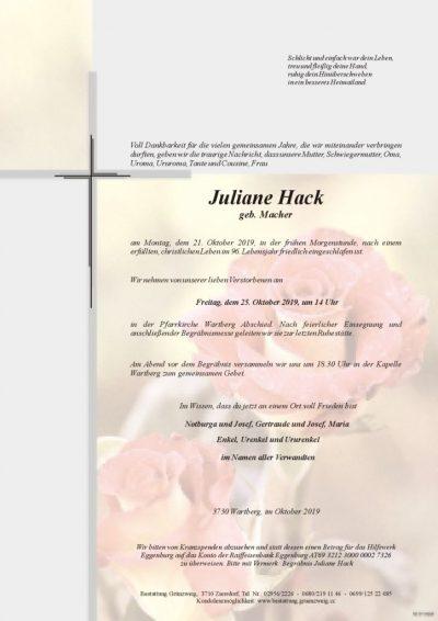 Juliane Hack