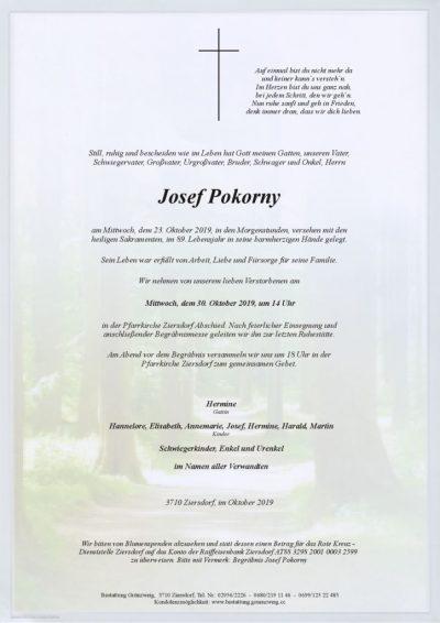 Josef Pokorny