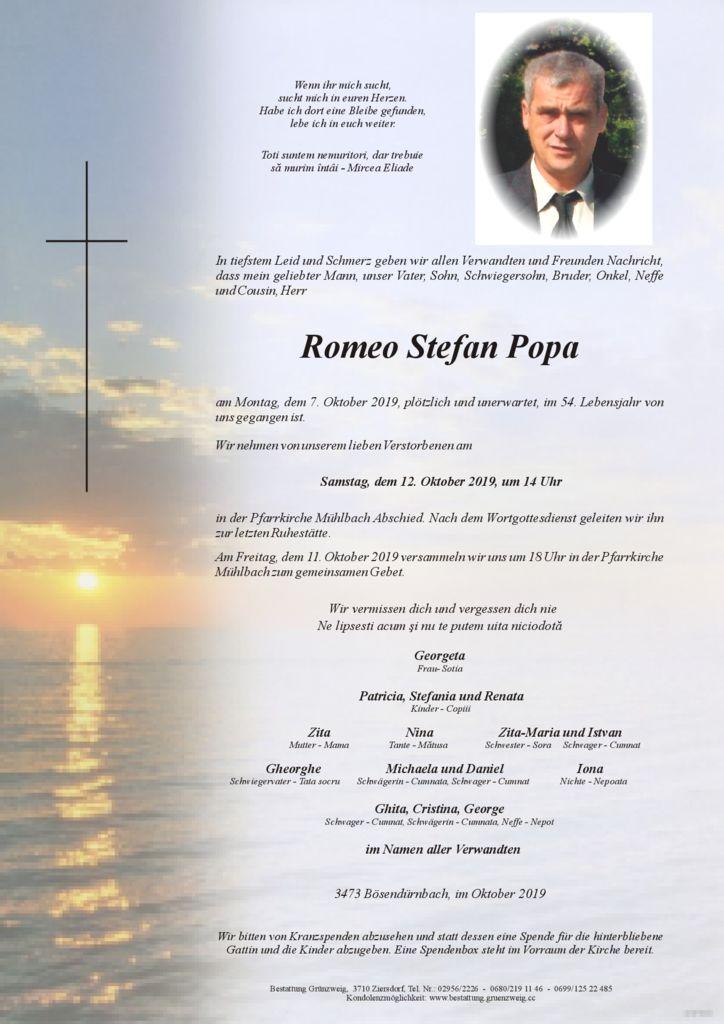 Romeo Stefan Popa