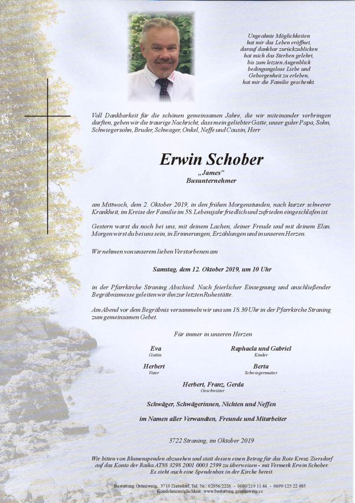 Erwin Schober