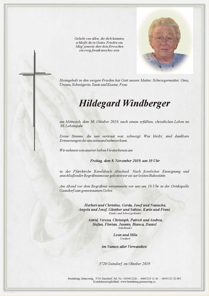Hildegard Windberger