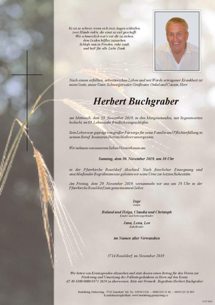 Herbert Buchgraber