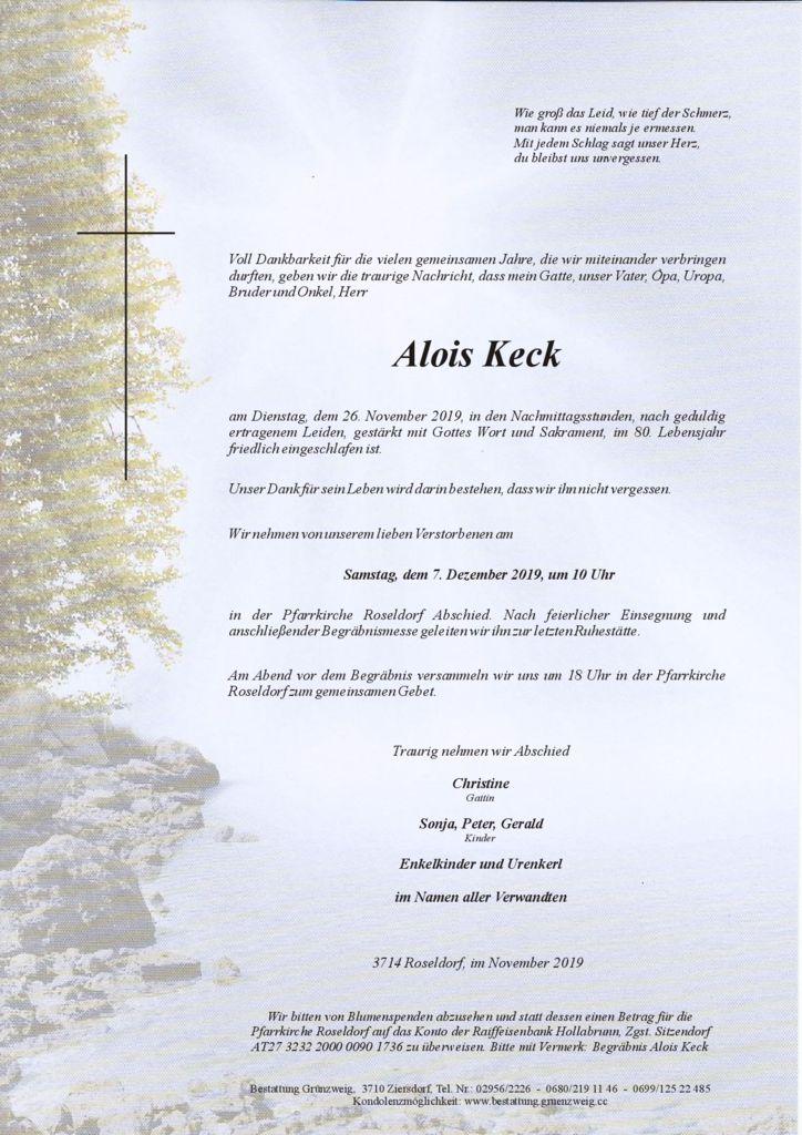 Alois Keck