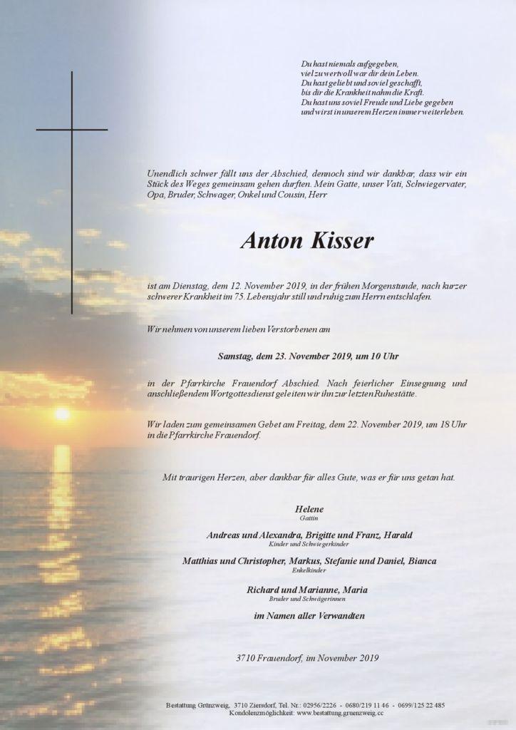 Anton Kisser