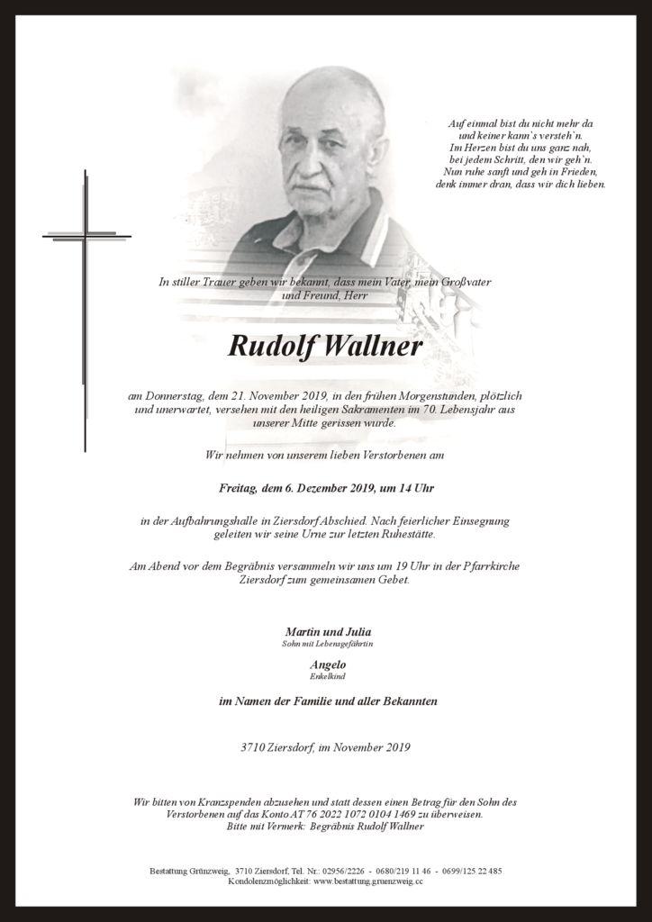 Rudolf Wallner