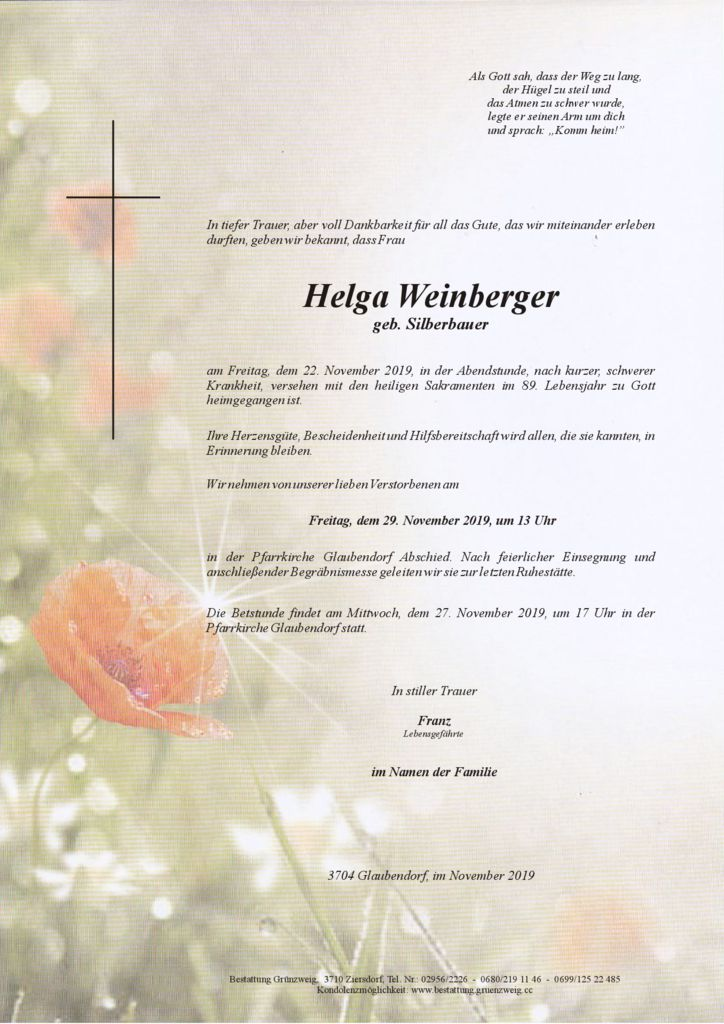 Helga Weinberger