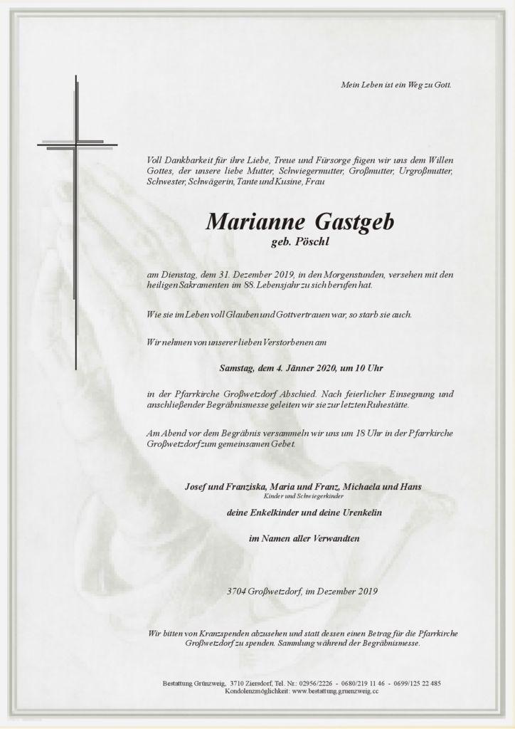 Marianne Gastgeb