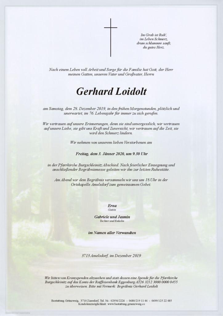 Gerhard Loidolt
