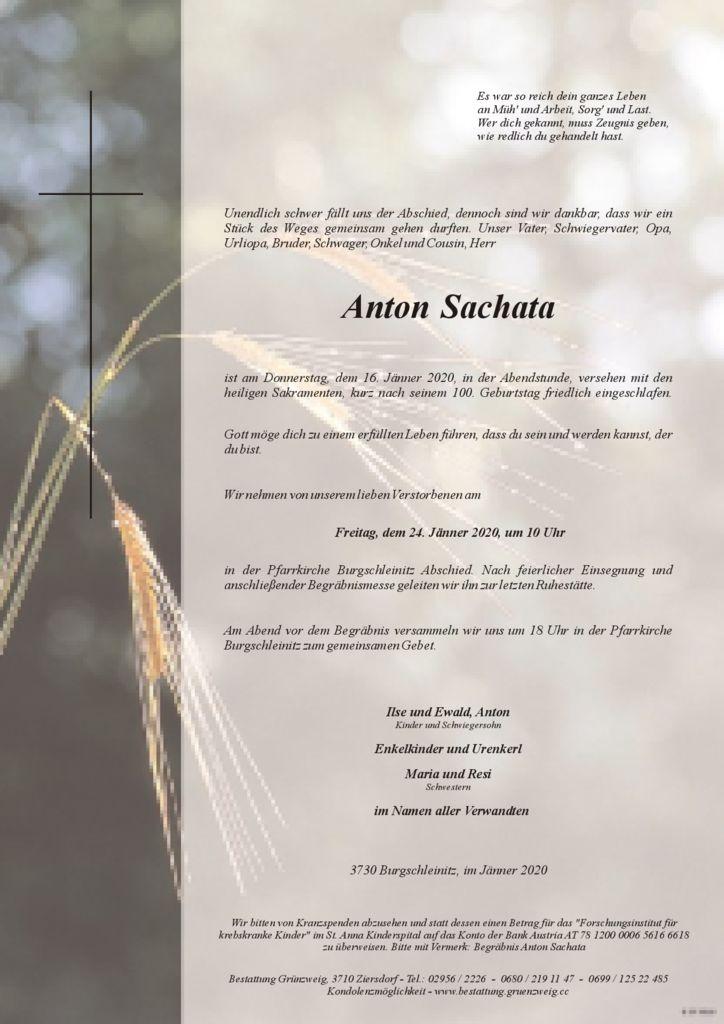 Anton Sachata