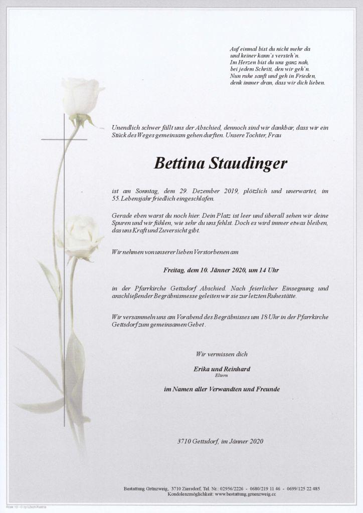 Bettina Staudinger