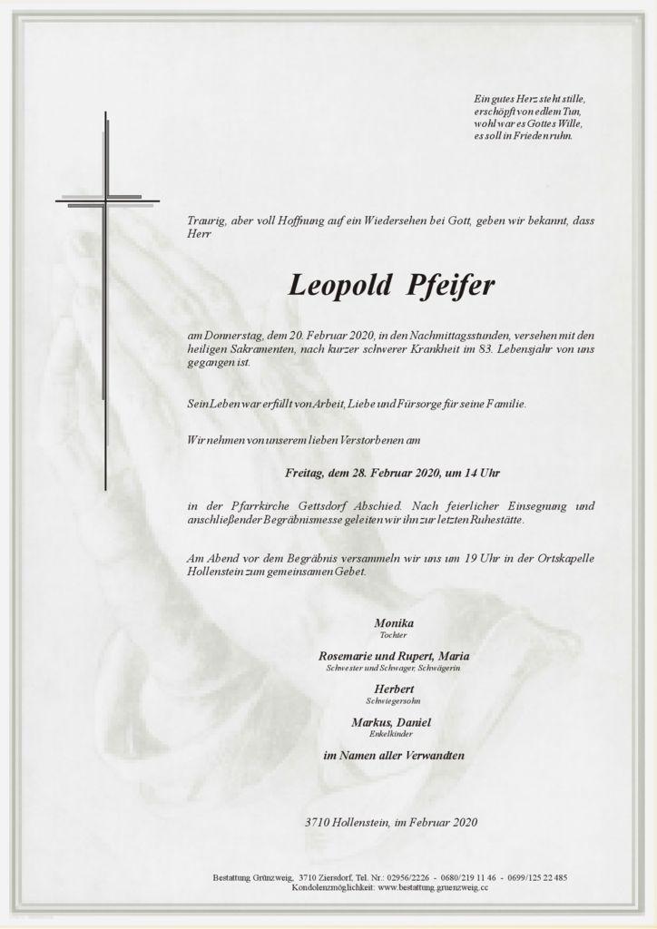 Leopold Pfeifer