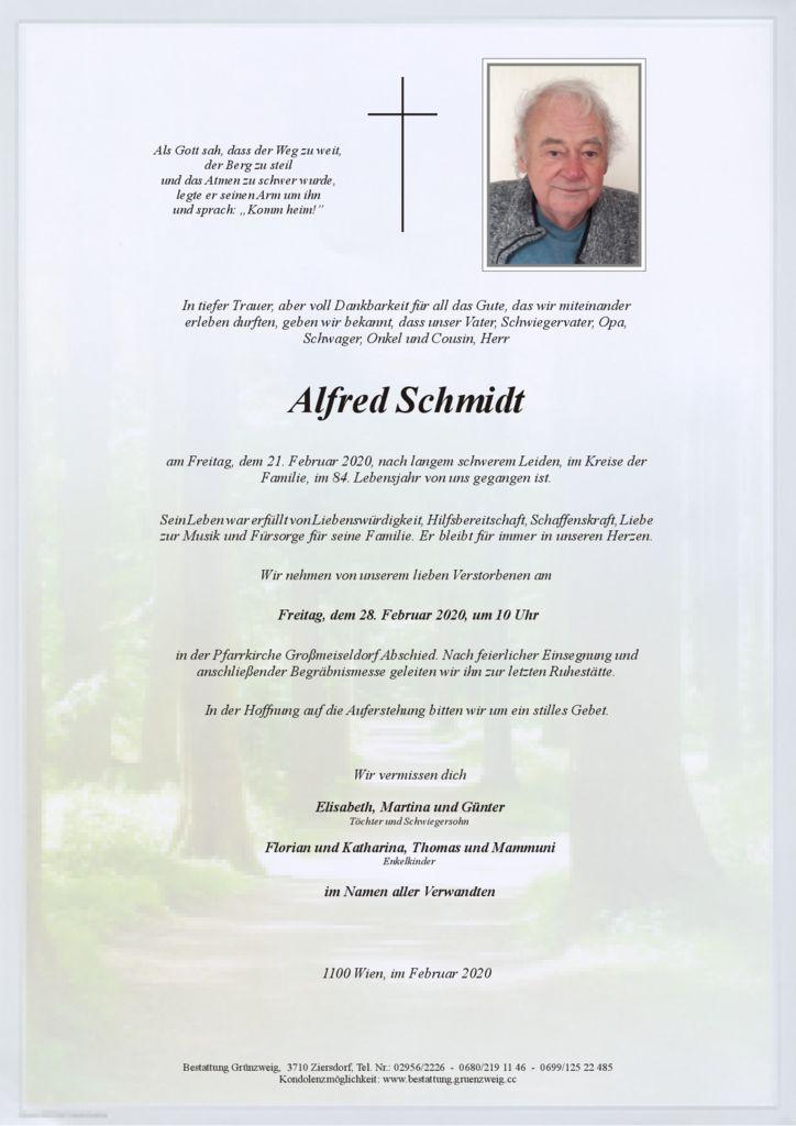 Alfred Schmidt