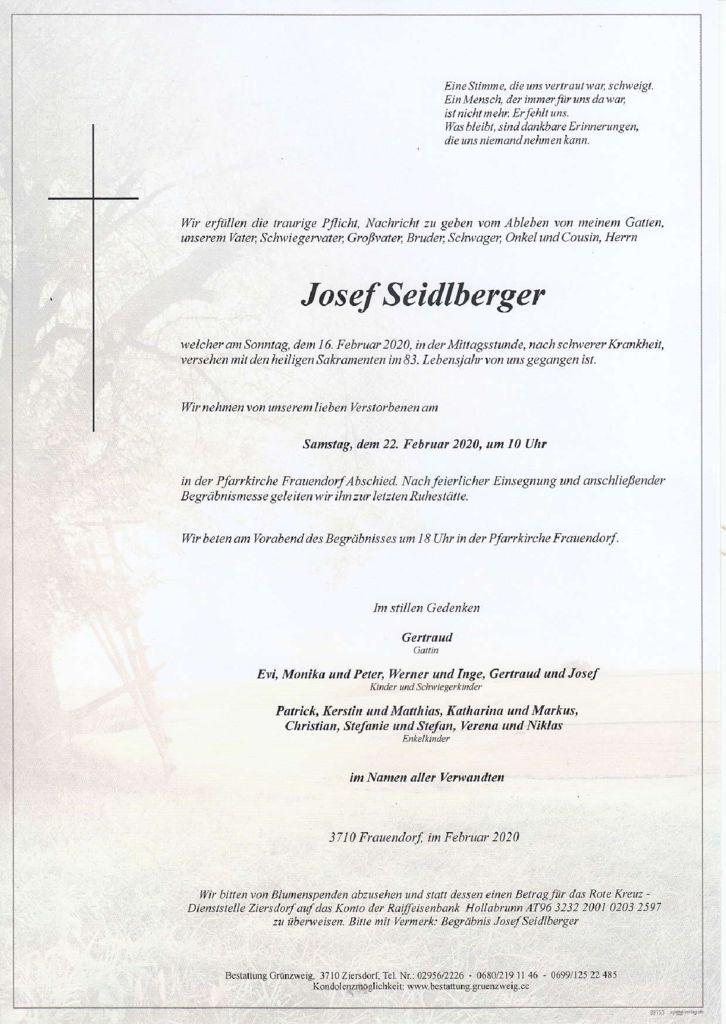 Josef Seidlberger