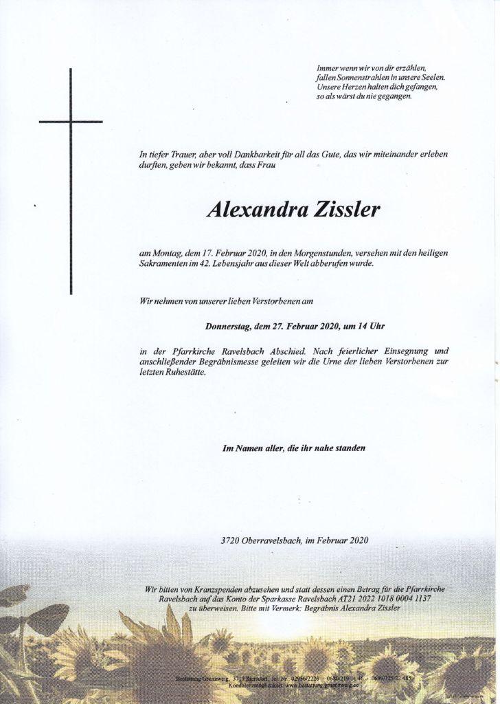 Alexandra Zissler
