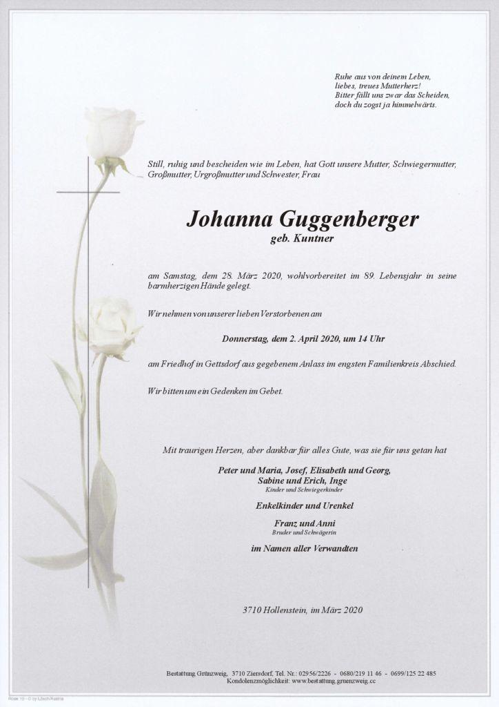 Johanna Guggenberger