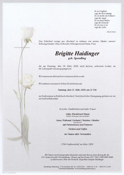 Brigitte Haidinger