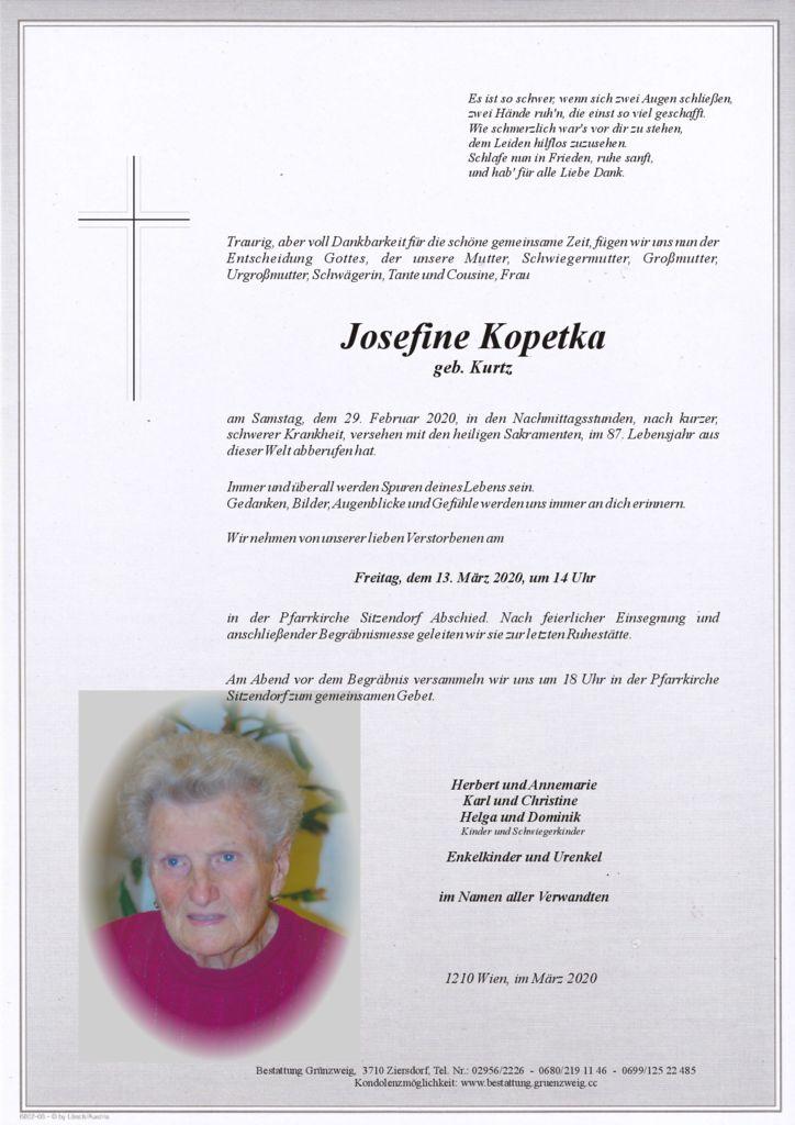 Josefine Kopetka