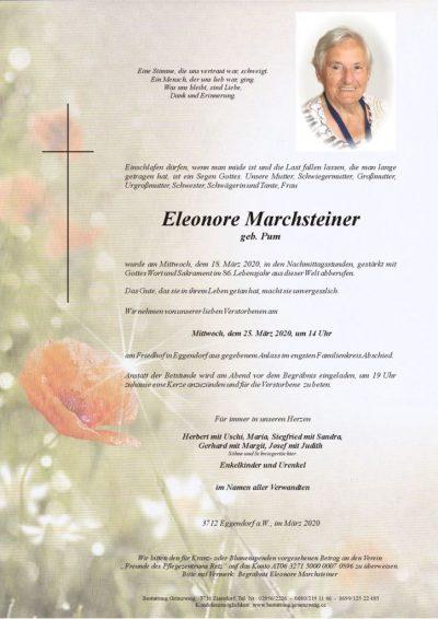 Eleonore Marchsteiner