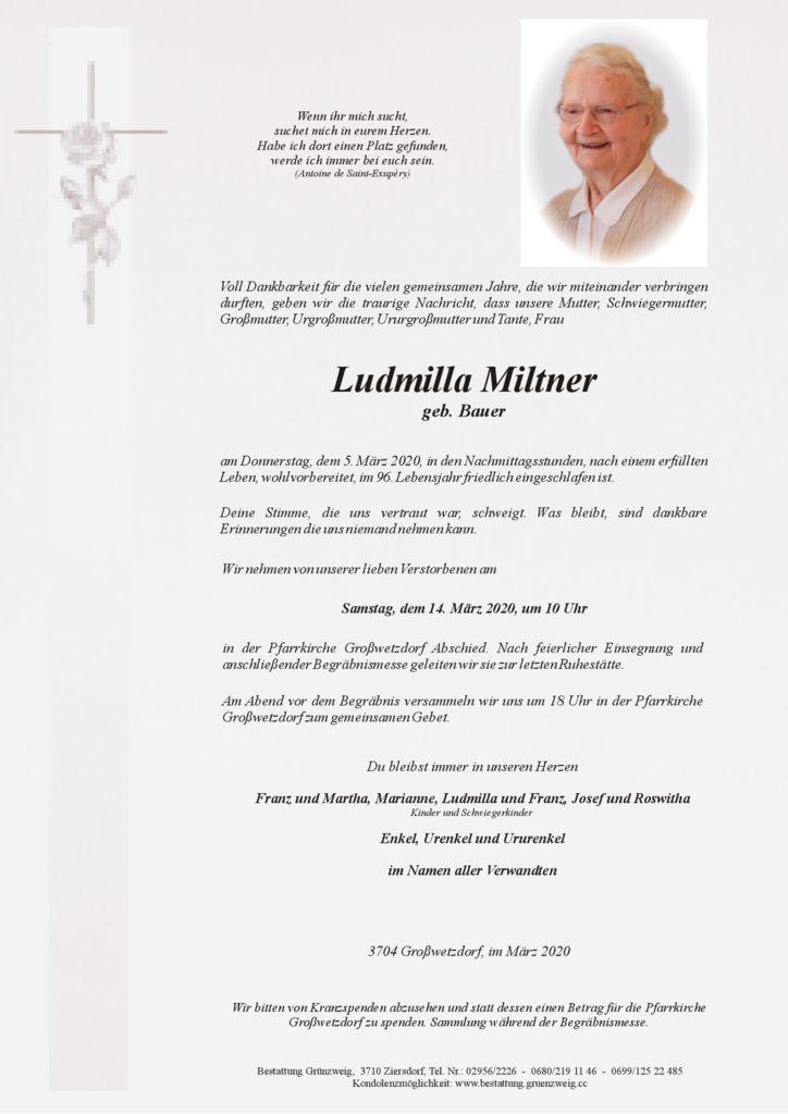Ludmilla Miltner