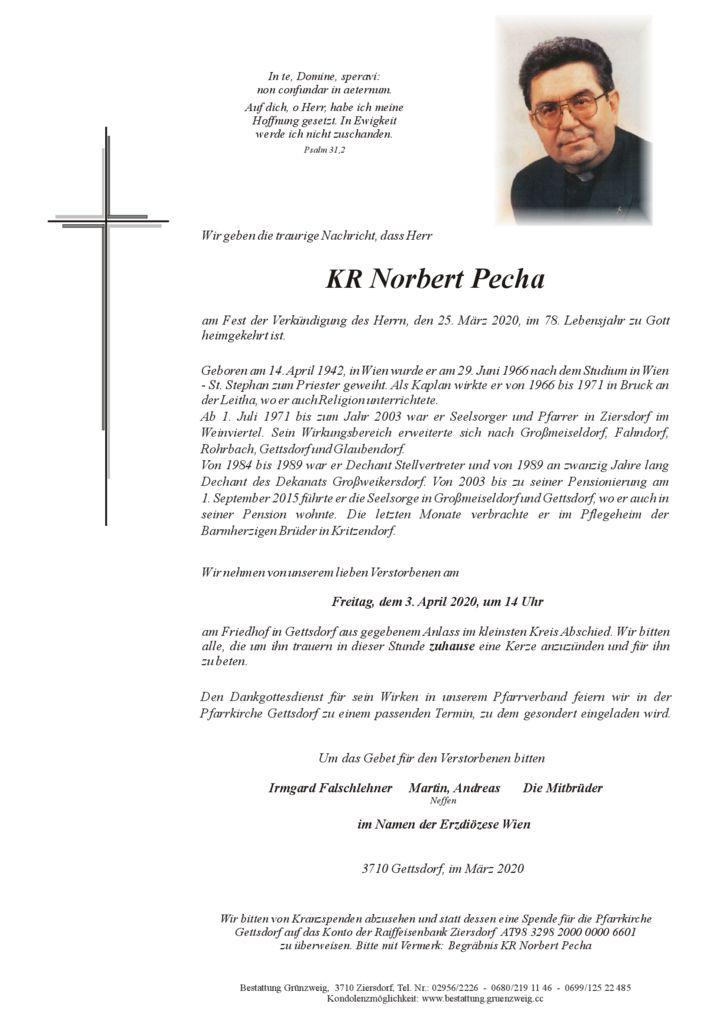 Norbert Pecha