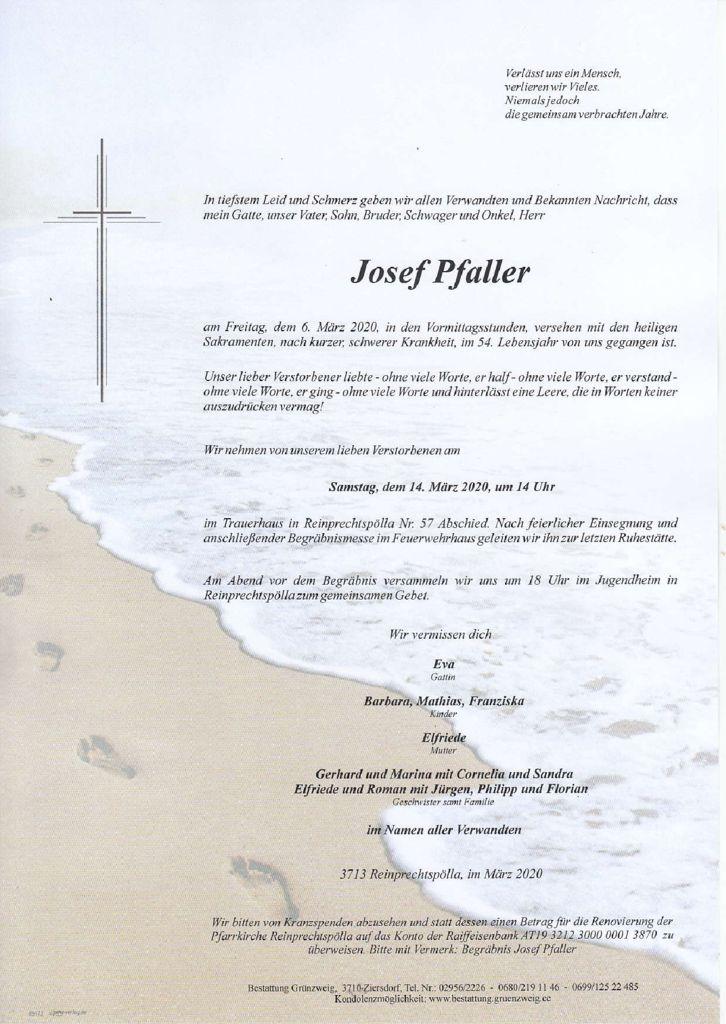 Josef Pfaller