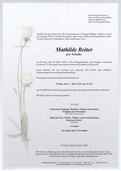 Mathilde Reiter